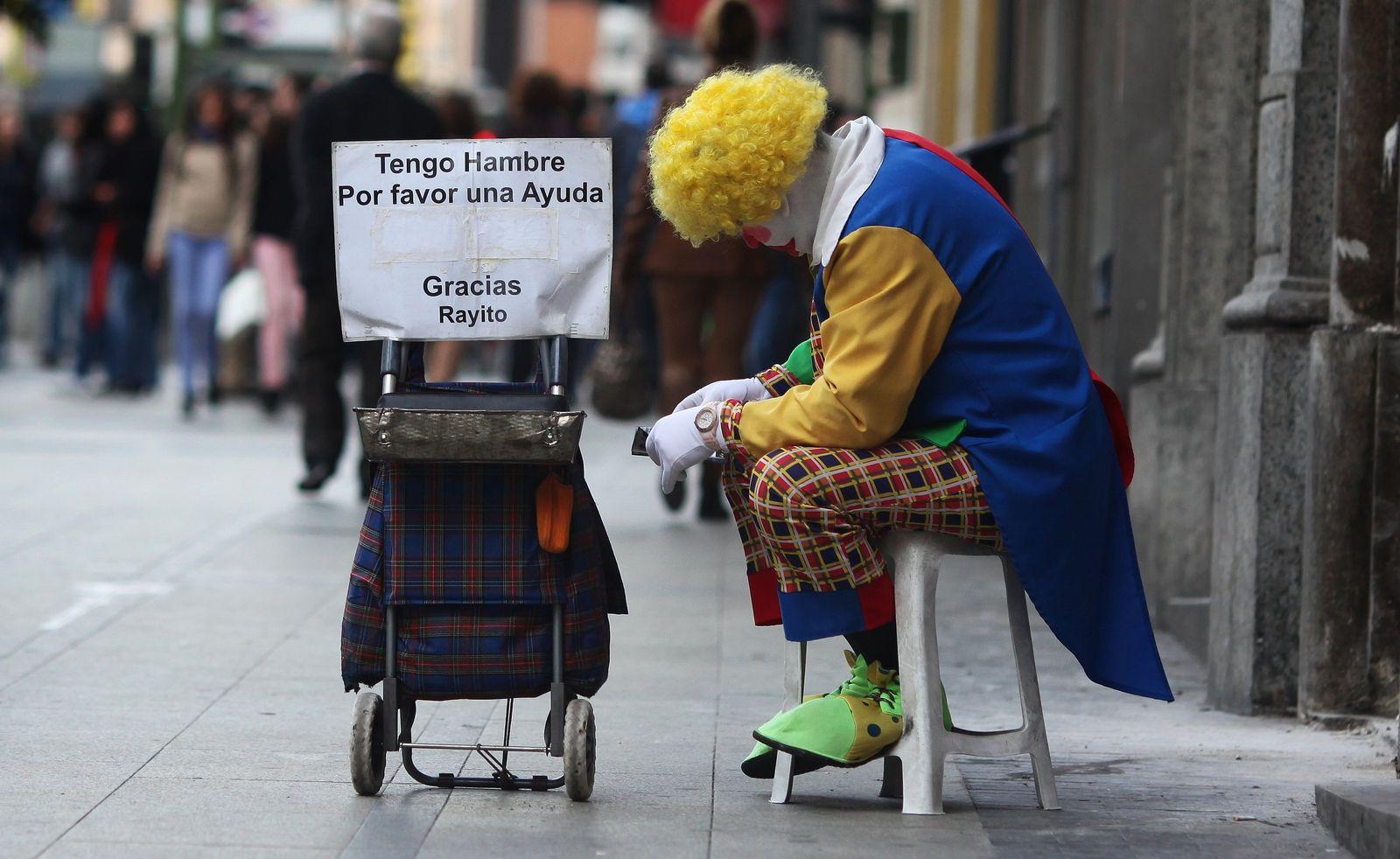 Armut in Spanien