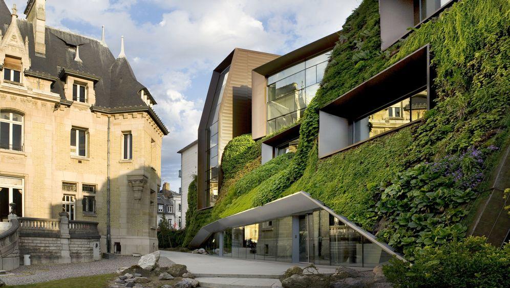 »Lebende« Architektur im nordfranzösischen Amiens: der Erweiterungsbau der Industrie- und Handelskammer vom Architektenduo Chartier Corbasson