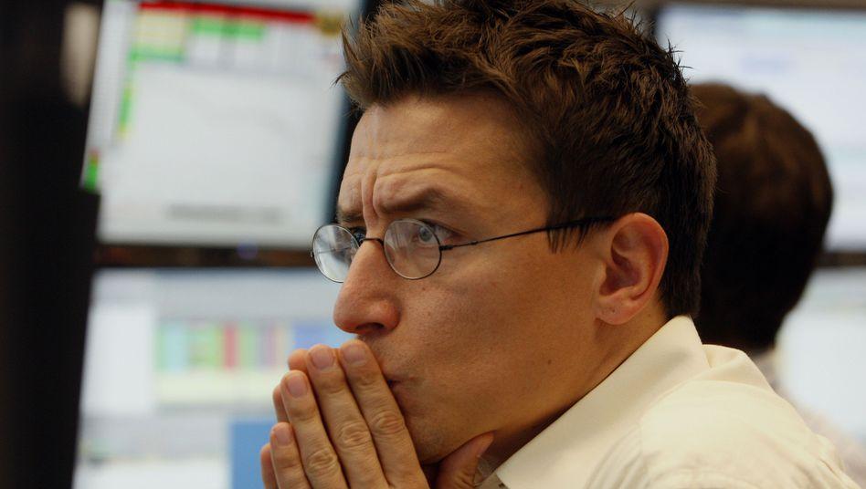 Börsenturbulenzen: Dax bricht um fünfProzent ein
