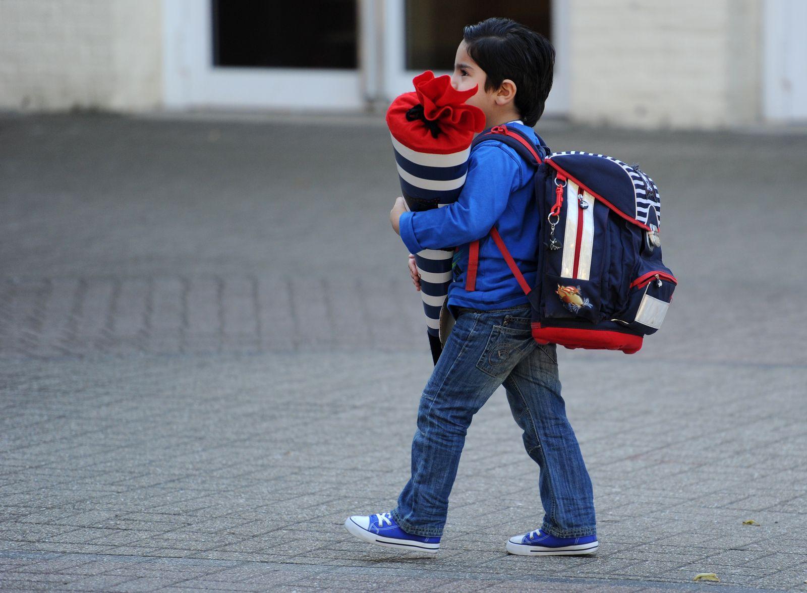 Flüchtlingskinder an Schulen