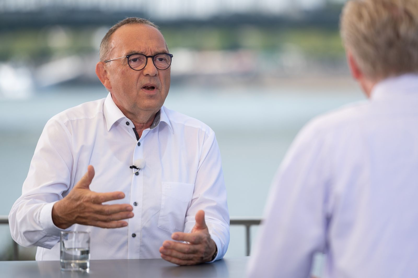 Berlin direkt - ZDF-Sommerinterview mit Walter-Borjans