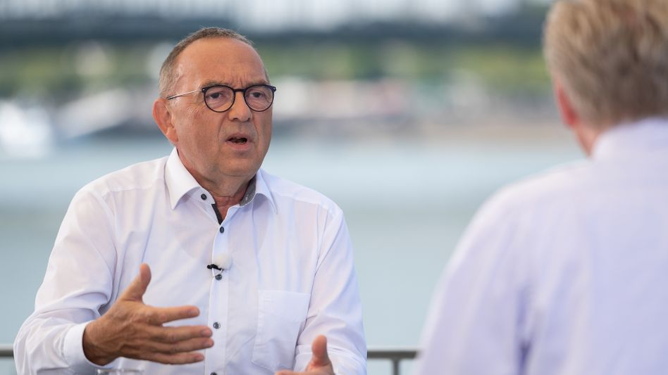 "SPD-Chef Norbert Walter-Borjans im ZDF-""Sommerinterview"""