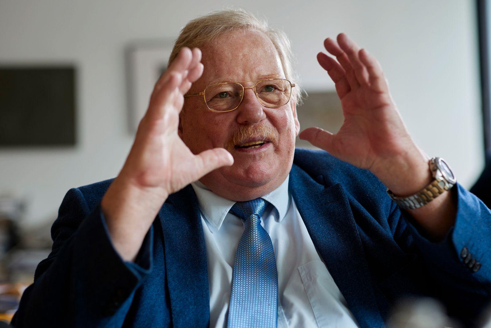 Prof. Dr. Reinhard Genzel für Der Spiegel