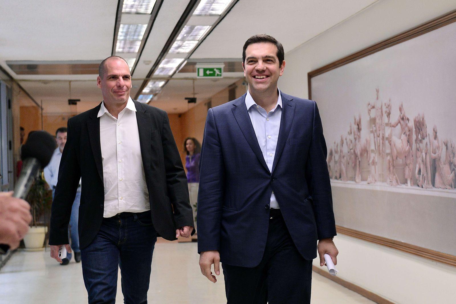 Alexis Tsipras Gianis Varoufakis