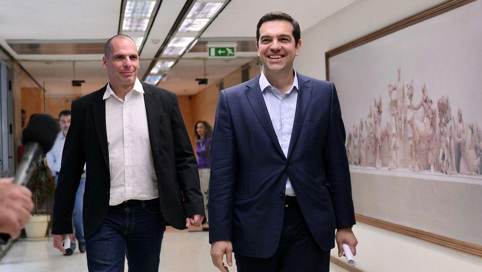 """Gianis Varoufakis und Alexis Tsipras: """"Auf der Zielgeraden"""""""