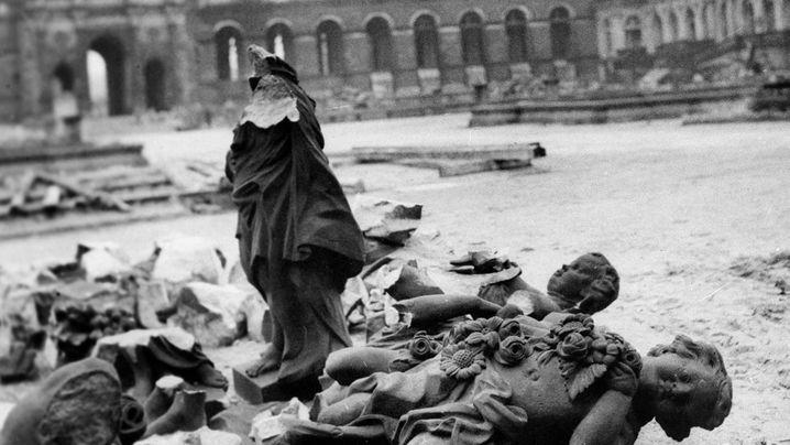 Jahrestag der Bombenangriffe: Als das alte Dresden unterging