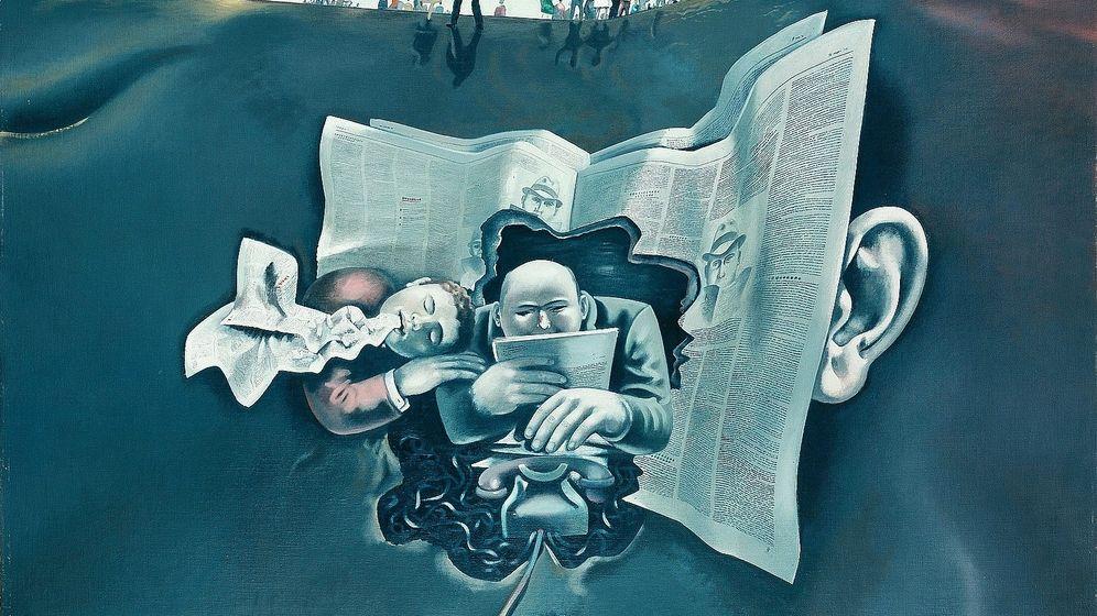 Gemälde von DDR-Maler Wolfgang Mattheuer, 1970