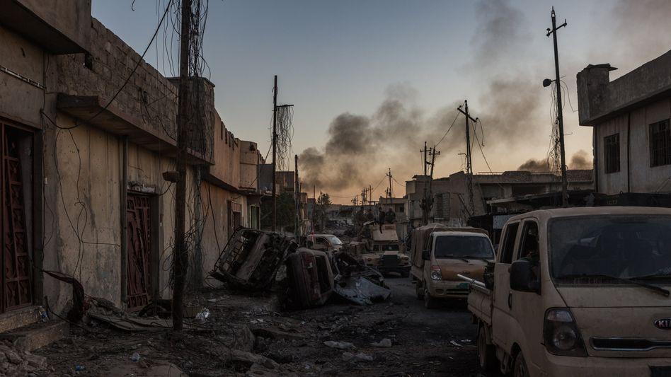Vom IS zurückeroberte Stadt Mossul im Irak (Juli 2017)