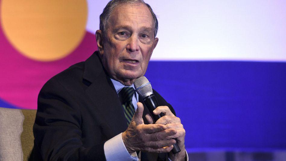 Michael Bloomberg glaubt, vier weitere Jahr mit Trump - das kann nicht gut gehen