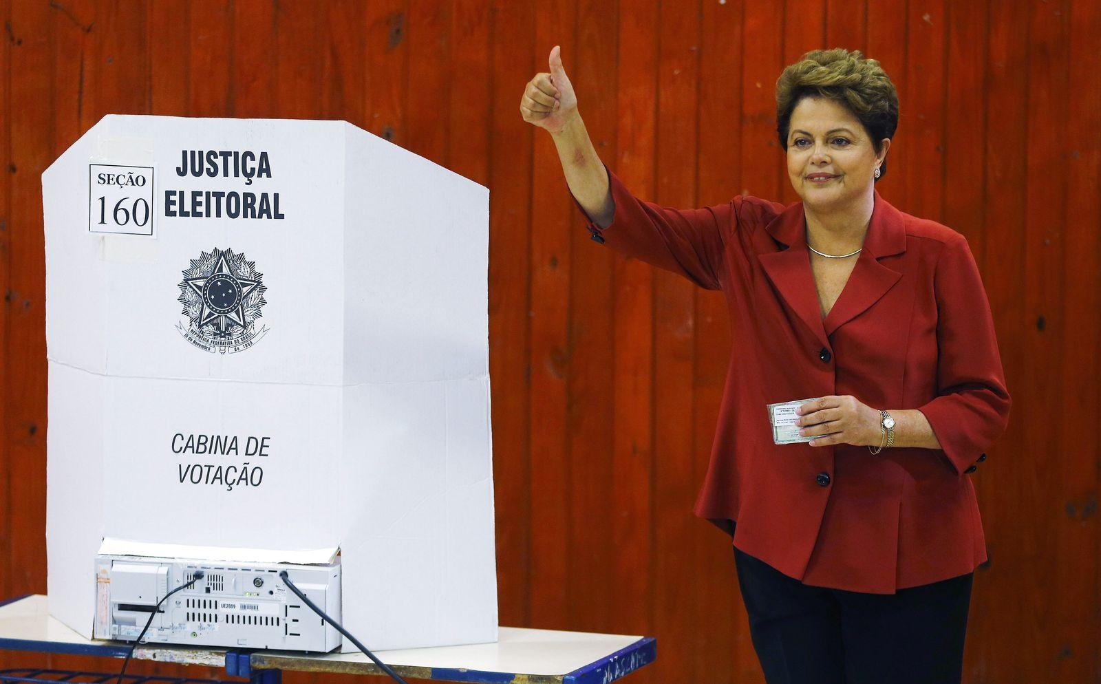 Wahl Brasilien: Dilma Rousseff