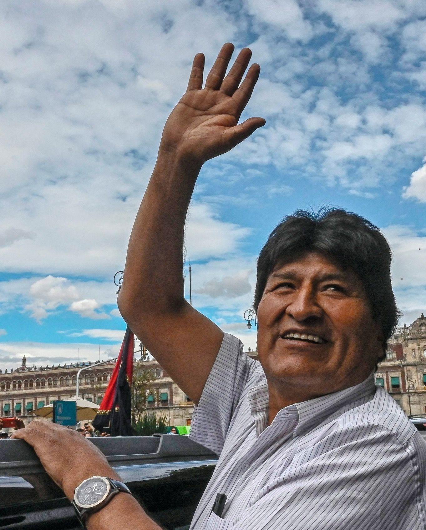 SPIEGEL+ 47/2019 Evo Morales