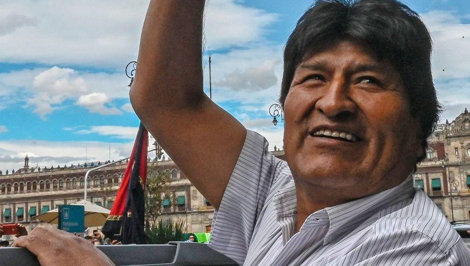 """Evo Morales: """"Falsche Beweise und manipulierte Aufnahmen"""""""