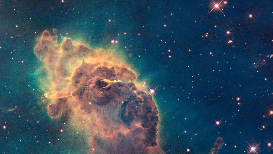 Kosmische Kinderstube: Auch im Carinanebel wird es so manchen Protostern geben