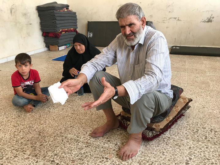 """Mohammed al-Nahban: """"Wir haben nie Probleme mit einer Gegend, aber offensichtlich hat jede Gegend ein Problem mit uns"""""""
