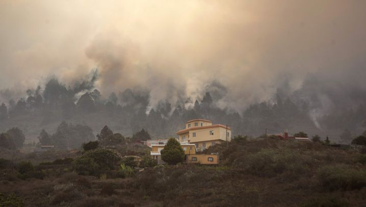 Großbrand auf La Palma: Feuer im Ferienparadies