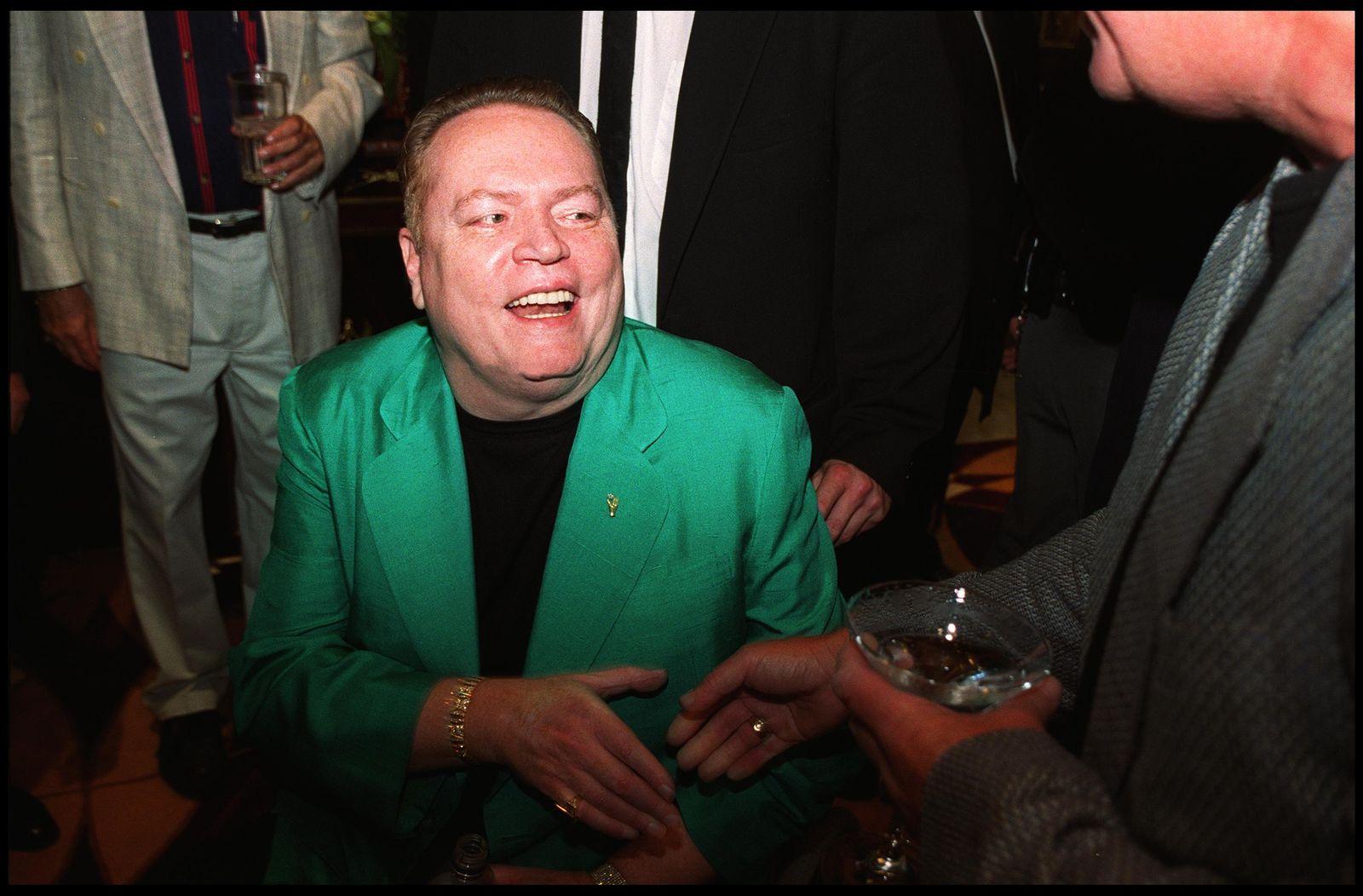 FILE: Hustler Founder Larry Flynt Reportedly Dies At 78