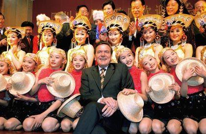 Former German Chancellor Gerhard Schröder got along just fine with China.