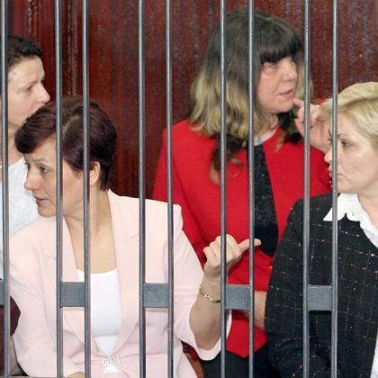 Begnadigt: Die bulgarischen Krankenschwestern, die seit 1999 in libyschen Gefängnissen sitzen