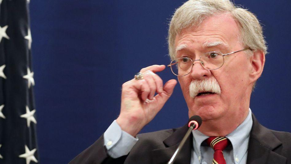 John Bolton, Nationaler Sicherheitsberater für Donald Trump