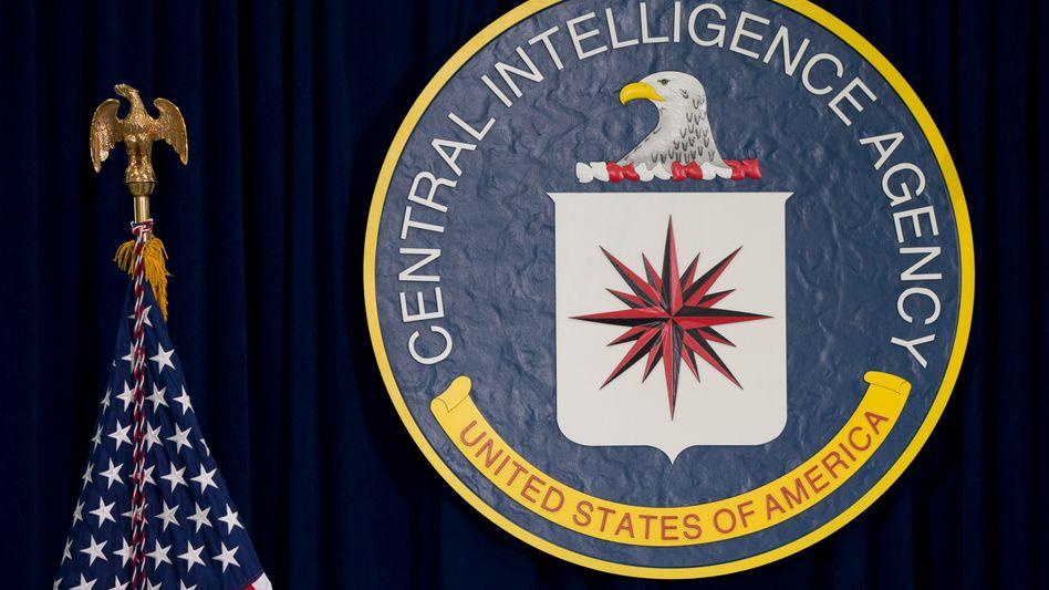 Zeichen der amerikanischen Central Intelligence Agency (Archivbild)