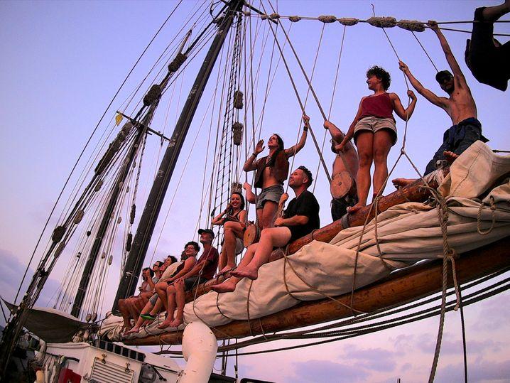 """Alle an Bord: Peggy Engelmann spricht von der """"besten Crew, die das Schiff je gesehen hat"""""""
