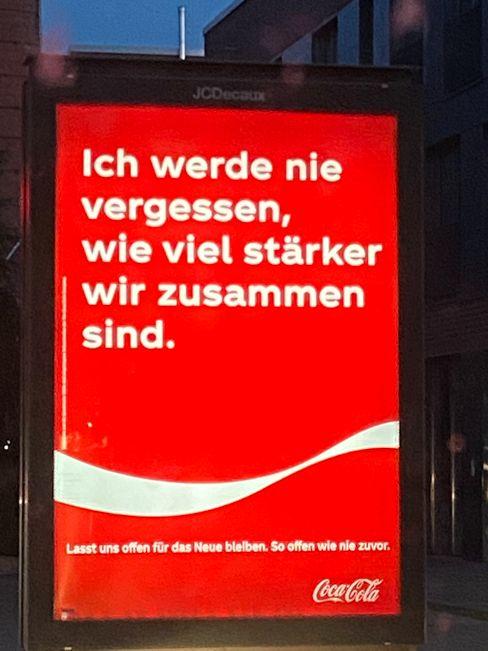 Coca-Cola-Werbung: Kopfhörer oder Ohren - Hauptsache sensibel