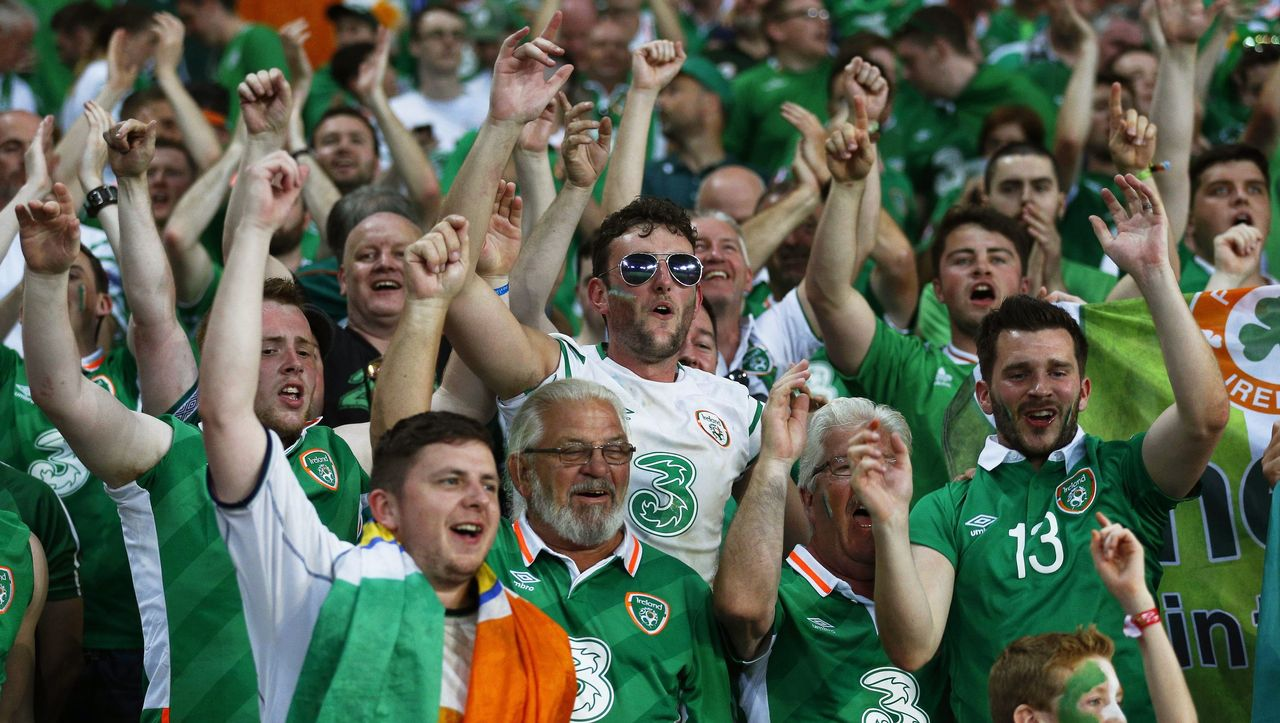 Irland Fans