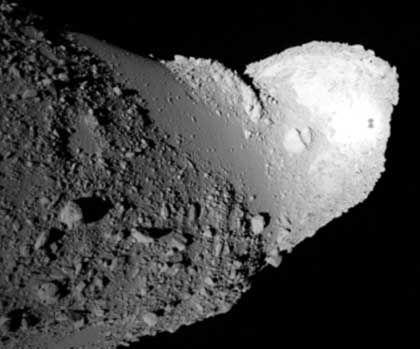 """Asteroid """"Itokawa"""": Knapper Zeitplan für japanische Mission"""