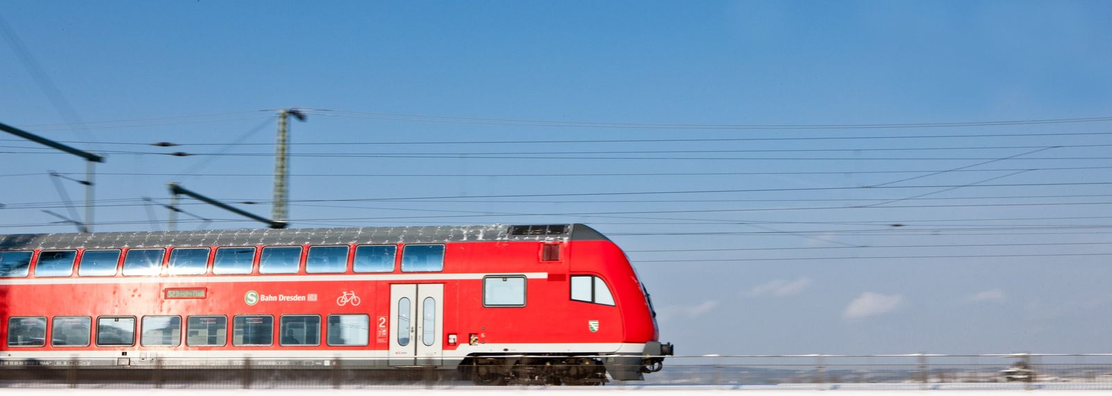 Winter lässt Züge in Sachsen ausfallen