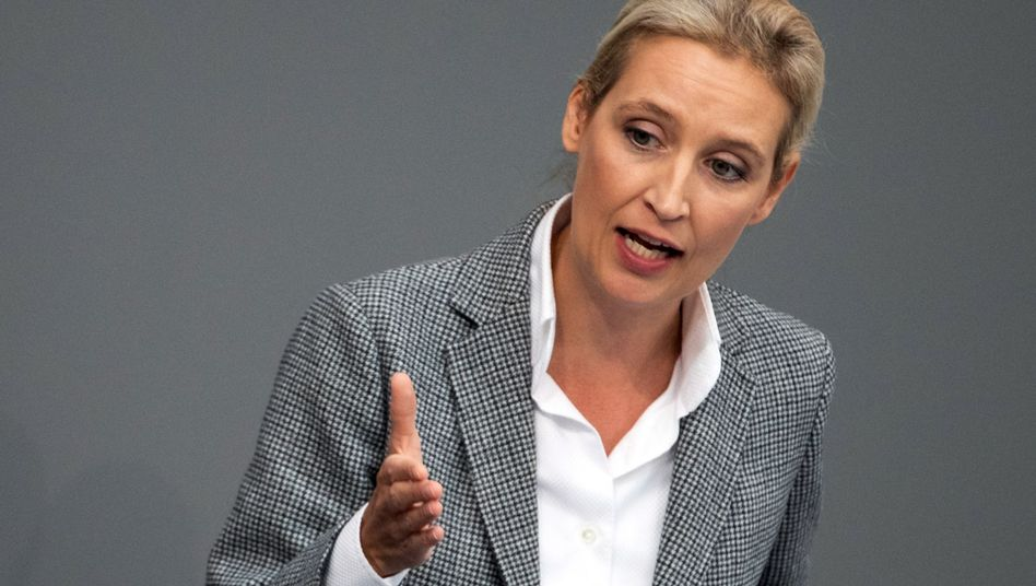 Alice Weidel of the Alternative for Germany party