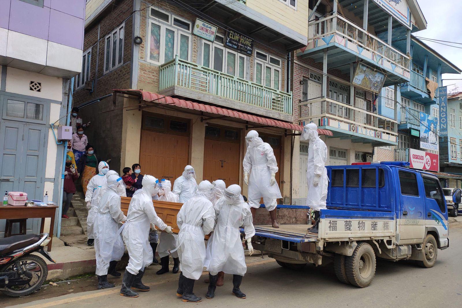 MYANMAR-HEALTH-VIRUS