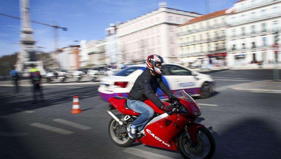 Leichtmotorrad (in Lissabon)