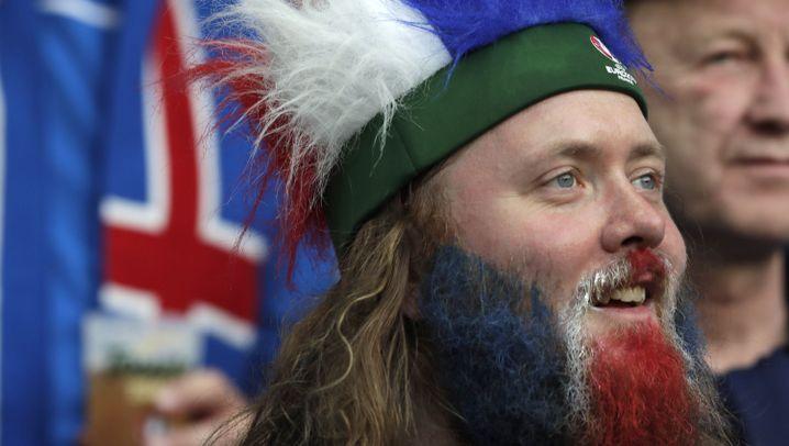 England vs. Island: Einwurf ins Glück