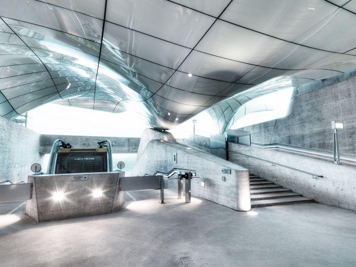 Hungerburgbahn: Entworfen von der Architektin Zaha Hadid
