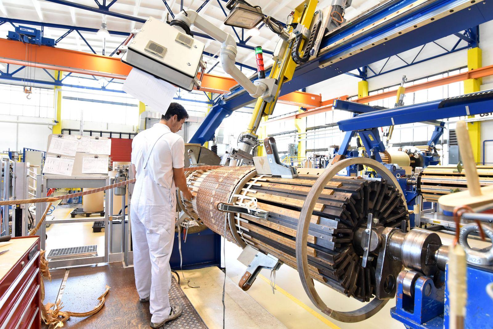 EINMALIGE VERWENDUNG Industrie/ Deutschland/ Maschinenbauer