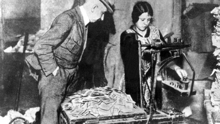 Hyperinflation 1923: Kiloweise Geld
