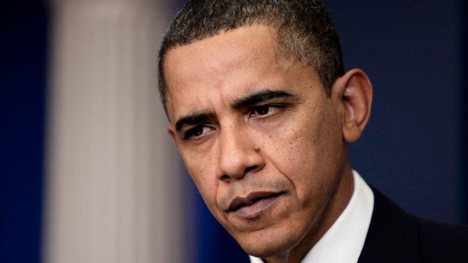 """US-Präsident Obama: """"Bedeutender Umfang von Sanktionen"""""""