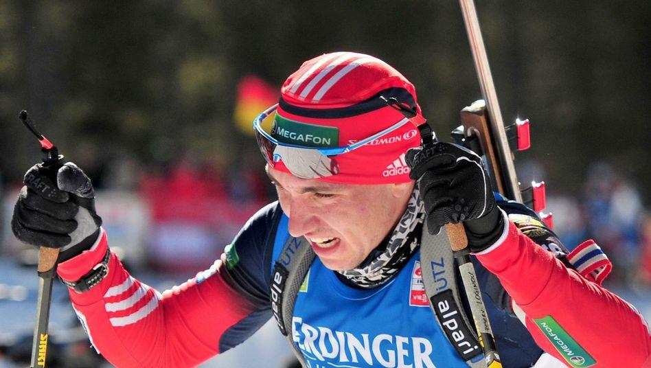 Biathlet Loginow: Hatte in der Saison 2013/2014 gedopt