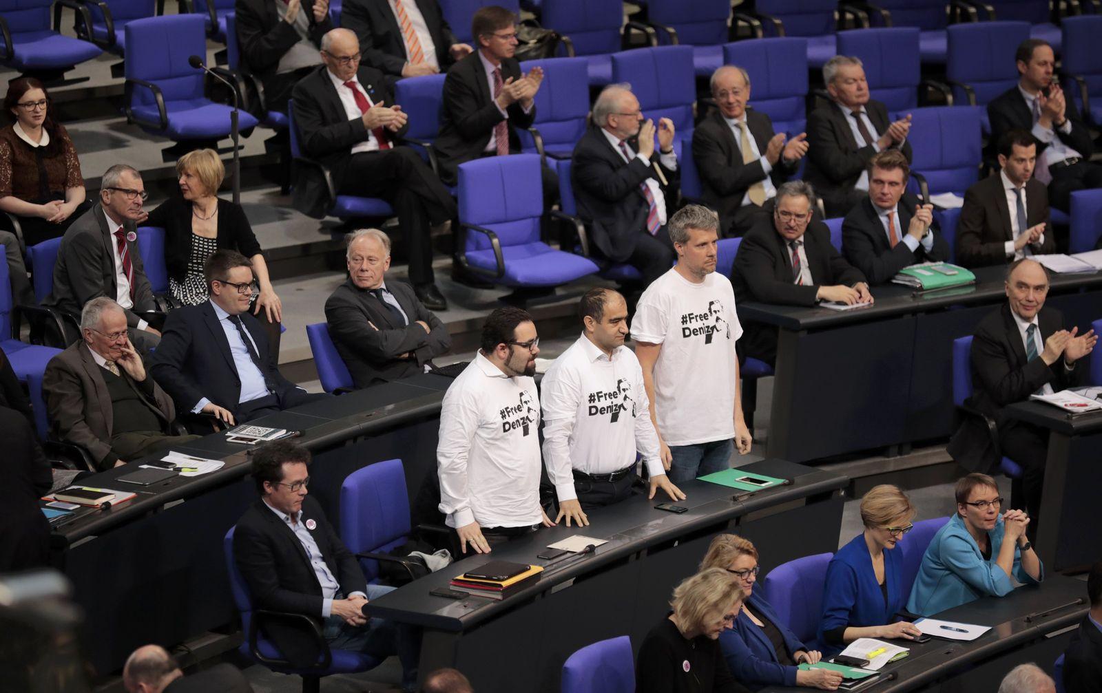 Bundestag / Grünen / Abgeordnete / Free Deniz