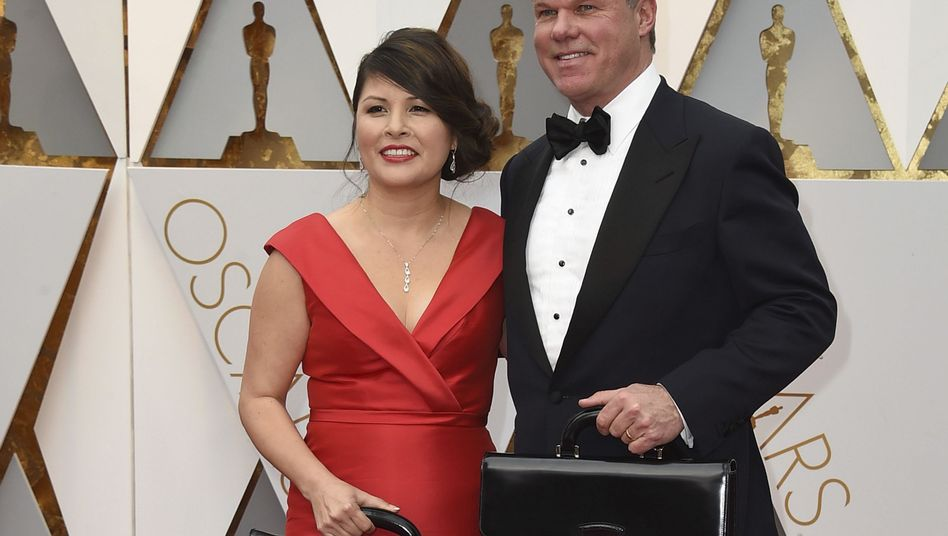 Martha Ruiz und Brian Cullinan