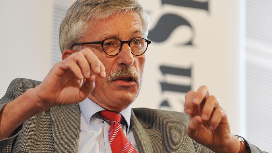 Thilo Sarrazin: Der umstrittene Bundesbanker wird derzeit von Personenschützern bewacht