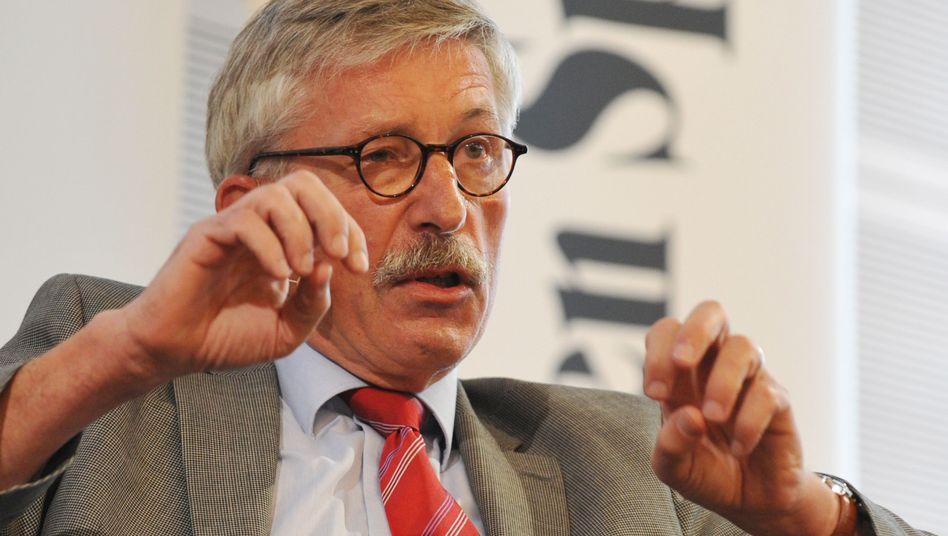 SPD-Politiker Sarrazin: auch in der eigenen Partei mehr Ablehnung als Zustimmung