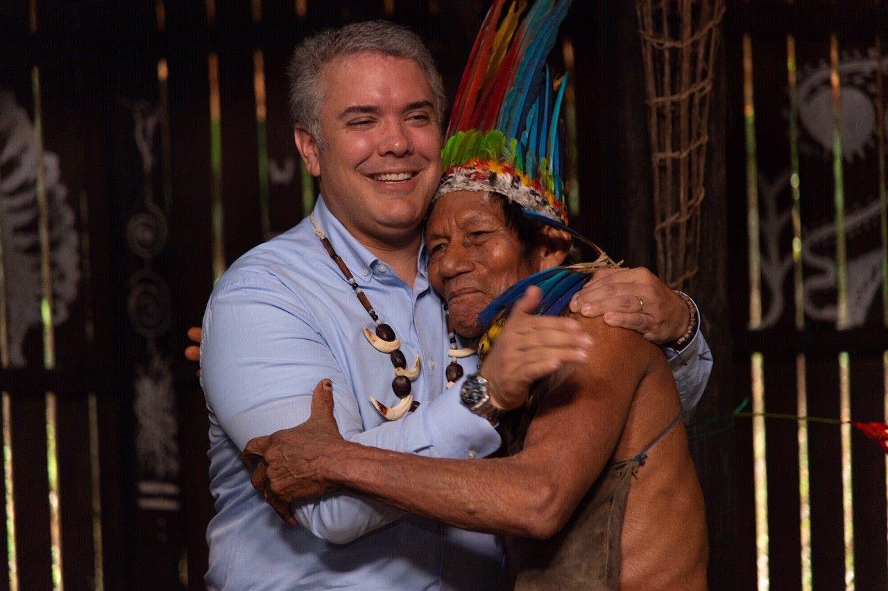 Amazonas Ivan Duque
