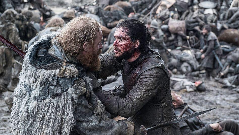Jon Snow erlebt eine schwere Zeit