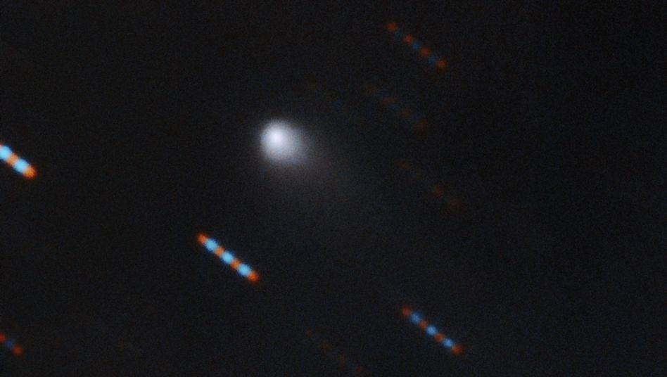 Mit den Multi-Object-Spectrographen des Gemini-Teleskops auf Hawaii entstand diese Aufnahme von 2I/Borisov