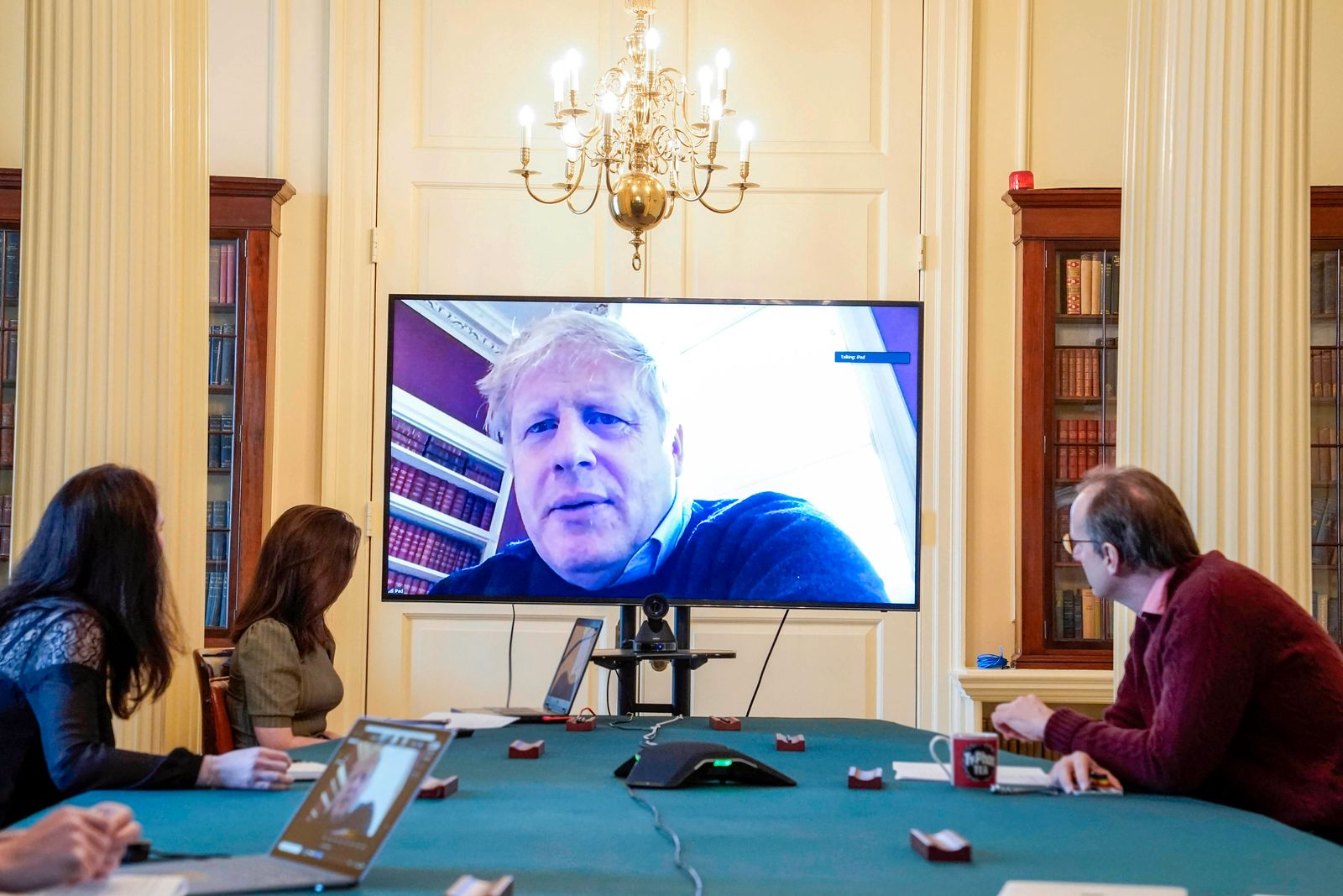Coronavirus - Premier Johnson unter Druck