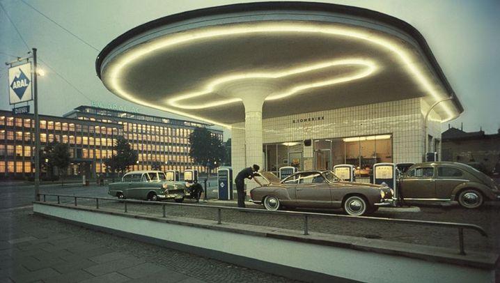 Vergessene Orte: Benzin in Art Deco