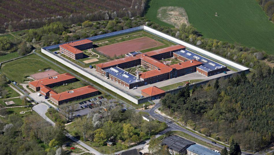 Gefängnis Waldeck bei Rostock (Archivbild)