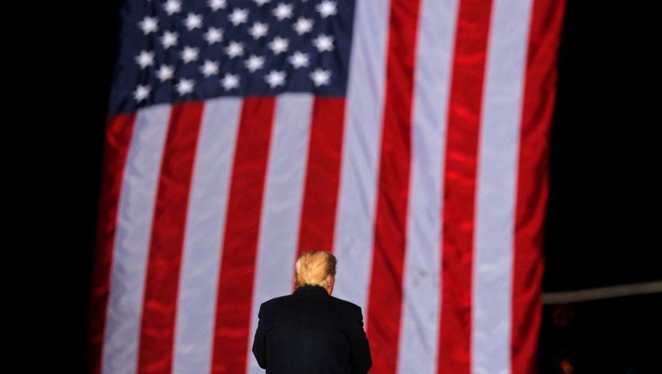 Donald Trump (am 4. Januar 2021)