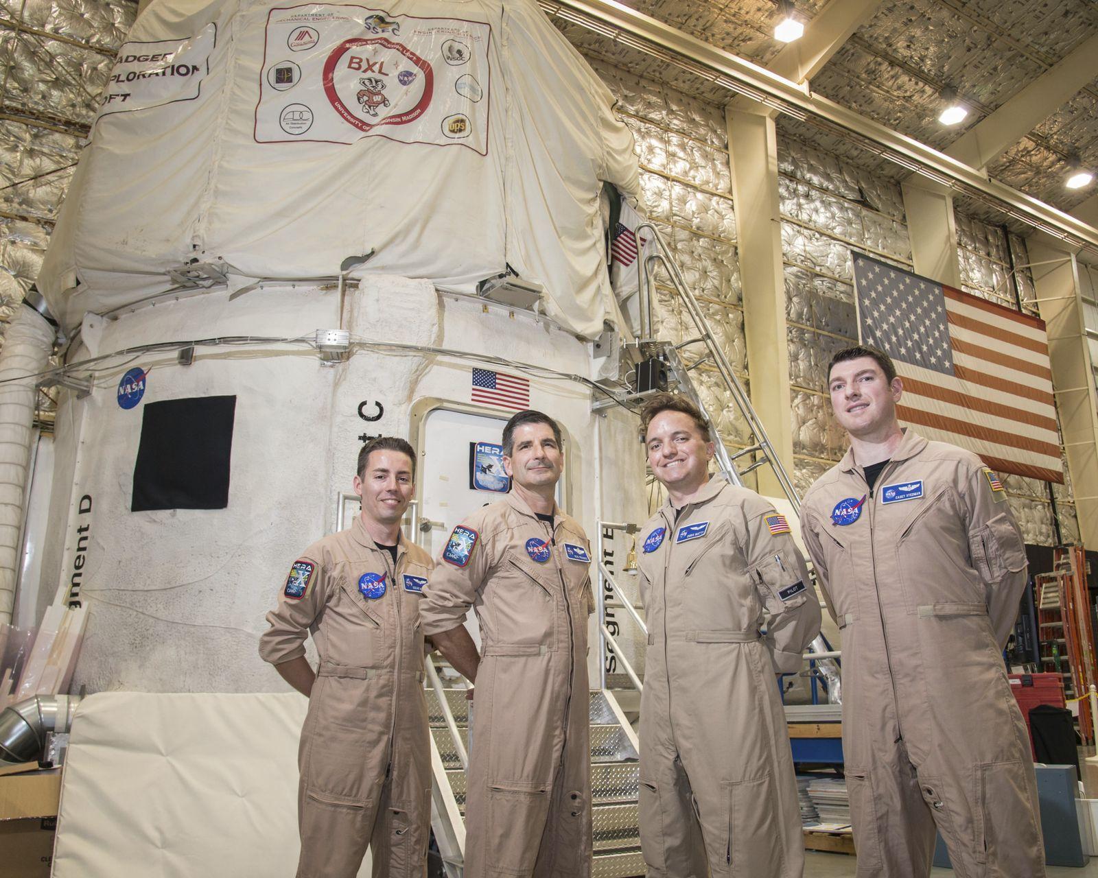 EINMALIGE VERWENDUNG Mars Mission / Team